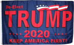 President Trump 2020 Re Elect 12x18 2x3 3x5 150d Nylon Flag Protected Waterproof