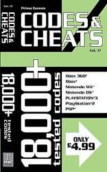 Codes And Cheats V. 17 By Prima Games