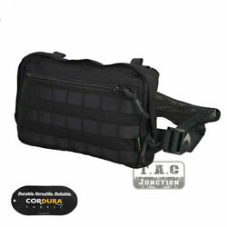 Emerson Combat Chest Recon Tool Bag Multi Purpose Concealed Carry Pouch Black