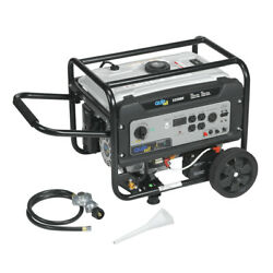 Quipall Dual Fuel Gas Portable Generator 5250df W/ Electric Start New