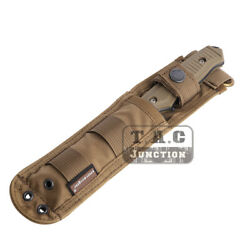 For SOG M37 140 141 Emerson Tactical Combat MOLLE Knife Sheath Blade Fixed Case