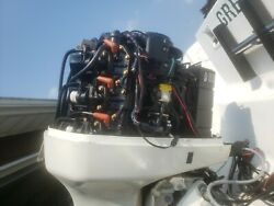 Parting Out 1999 Evinrude Ficht 225hp Motor