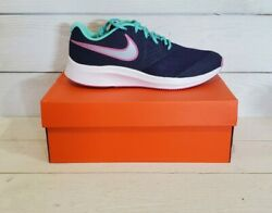 Brand New Girl's Nike Star Runner 2 Psv Athletic Shoes - Size 8.5 Womens Or 7y