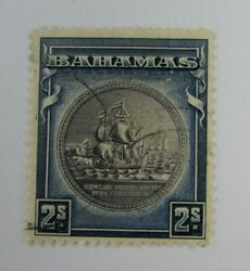 C1940 Bahamas British Colonies Sc 90 Ships Used Stamp