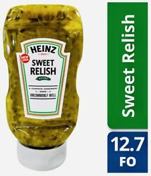2 Pack, Heinz Sweet Relish, 12.7oz Squeeze Bottle, Fat Free/low Sugar, Usps Pm.