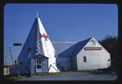 Photo Gift And Souvenirs Teepee Gifts Route 20 Cherry Valley New York 1978 E3