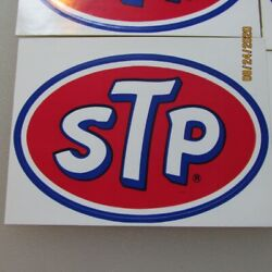 Stp Original Vintage 1990 Racing Decal/sticker Petty 43 40th New Old Stock