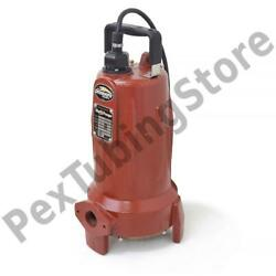 Manual Omnivore Grinder Pump 25and039 Cord 2 Hp 208/230v 3-phase