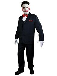 Trick Or Treat Studios Saw Movie Billy Puppet Adult Halloween Costume And Mask