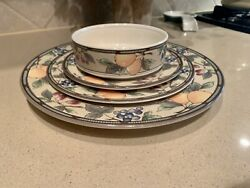 Mikasa Intaglio Garden Harvest 12 Place Setting With Serving Pieces,and Much More