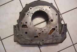 1955-57 Chevy Cast Iron V8 Powerglide Auto Bell Housing Case 3719243 Bel Air 210