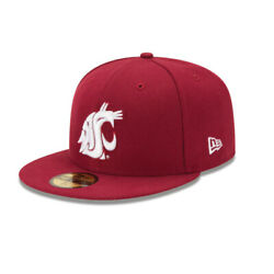Washington State Cougars Ncaa New Era 59fifty Fitted Hat - Cardinal