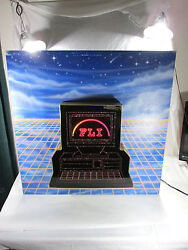 Fiber Optic Sign Color Motion Advertising Collectible Computer Large Man Cave