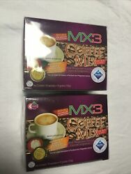 2 Boxesofmx3 Powdered Coffee Mix Low Acid Source Of Vitc And Calcium Free Shipping