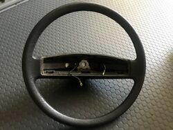 Rare Oem And03987 Vanagon Brown Steering Wheel With Horn Contact Ring 251-419-650