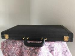 Backgammon Suede Leatherette 18 Executive Set Board From Rockford Files Actor