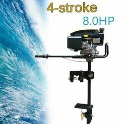 Non-contact Ignition 8hp 4 Stroke Outboard Motor Boat Engine Andair Cooling System