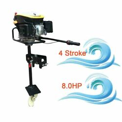8hp 4 Stroke Outboard Motor Boat Engine Non-contact Ignitionandair Cooling System