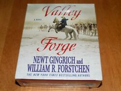 Valley Forge George Washington And Crucible Of Victory 15 Disc Cd Audio Book New
