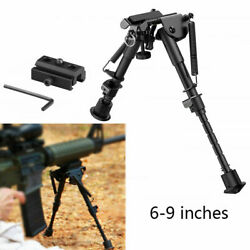 Outdoor Hunting Tactical Rifle Bipod Quick Adjustable And Picatinny Rail Adapter