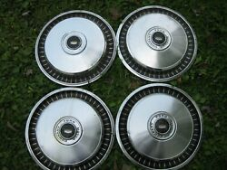 Gently Used 1971-77 Ford F100/e100 Truck 15 Wheelcover Set/four Stout Clean