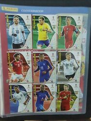 World Cup Adrenalyn Xl Russia 2018 Full Set 468 Rc Invest Mbappe Brazil Edition