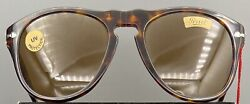 Vintage Ratti Persol 649/3a 137 24 'vision Expo' 1986 Sunglasses Tort/brown