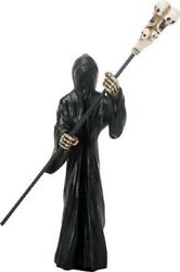Soul Bringer Charon in Black Figurine Ferryman for River Styx Hades Underworld