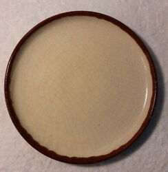 Pier 1 Crackle Collection 12 3/8 Charger Chop Plate Platter Discontinued
