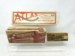 Vintage Ho Scale Original Boxes Only Atlas Roundhouse Products Merit Railway Oo