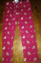 Guc baby Gymboree girls 2t old line red terrier pupoy dog girl school leggings