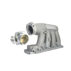 For 06-11 Civic 04-08 Acura K-series Engine Intake Manifold + 70mm Throttle Body