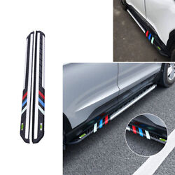 For Jeep Renegade 15-20 Four-color Side Step Running Board Nerf Bar Protect 2pcs