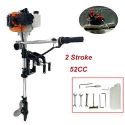 2 Stroke 3 Hp Fishing Boat Engine 52cc Outboard Motor With/air Cooling System Us