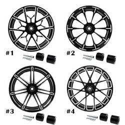 18and039and039 X 5.5and039and039 Rear Wheel Rim W/ Hubs For Harley Touring Non Abs Models 08-20 18