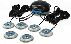 Aquascape Pond Air 4 Aerator W/ 2 Extra Airstones 6 Diffusers-complete Kit