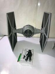 Star Wars TIE FIGHTER amp; PILOT 3.75quot; Force Link 2.0 Solo Story NEW LOOSE NO BOX $25.99
