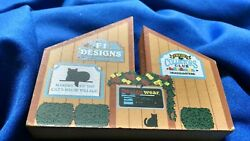 Cats Meow Collectibles Headquarters Village Sign 15 Years 1997 285 Faline