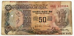 India 1996 . 10 Rupees Banknote . Misprint . 2 Different Serial Numbers
