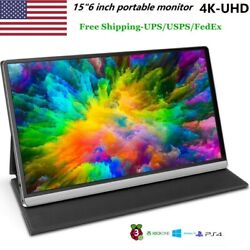 15.6 Inch 4k Portable Monitor Mini Hd 38402160 Display Screen Free Shipping