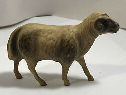 Vintage Antique Celluloid Ram Or Lamp Or Sheep Toy