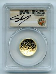 2020 W 5 Basketball Hall Fame Gold Commemorative Pcgs Pr70dcam Shaquille Oand039neal