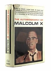 The Autobiography Of Malcolm X / First Uk Edition In Dj 1966