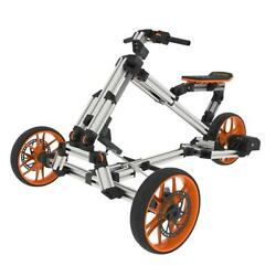 Rides 10-in-1 Racing Kit Assembly Electric Go Kart Trike Bike With Multi-mode