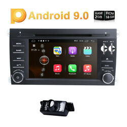 Car Gps Navigation Dvd Radio Stereo 7 Android 10 For Porsche Cayenne 2003-2010