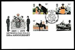 Official First Day Cover - 150th Anniversary Metropolitan Police 12223