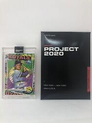 Topps Project 2020 55 George Brett 1975 Royals Rc By Tyson Beck W/ Box Pr 1992