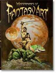 Masterpieces Of Fantasy Art By Dian Hanson Hardcover Book Free Shipping