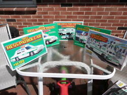 Vintage Lot Of 5 1991 1993-1996 Hess Toy Truck And Helicopter Dealer Display Signs
