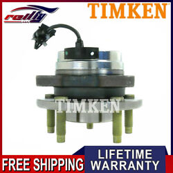 Front Wheel Hub And Bearing Assembly Timken For Chevy Malibu Pontiac Saturn W/ Abs